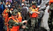 Hiện trường vụ lở đất chôn vùi hơn 40 ngôi nhà ở Trung Quốc