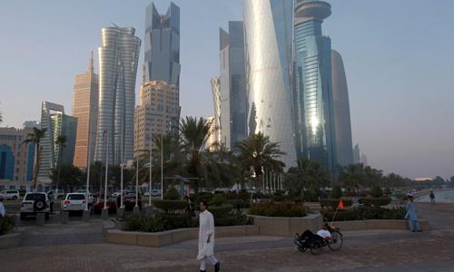 Một góc thủ đô Doha, Qatar. Ảnh: Reuters.