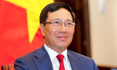 Phó thủ tướng Phạm Bình Minh. Ảnh: VGP.
