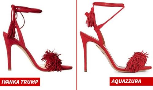 Mẫu giày Hettie (trái) và Wild Thing. Ảnh: TMZ.
