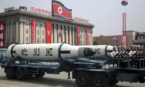 Một tên lửa của Triều Tiên. Ảnh: NBC News.