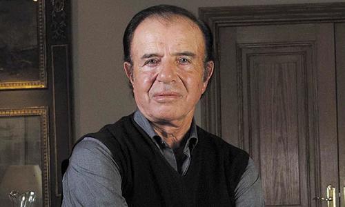 Ông Carlos Menem. Ảnh: Telegraph.