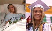 Lễ tốt nghiệp trong bệnh viện của nữ sinh Mỹ có mẹ sắp mất