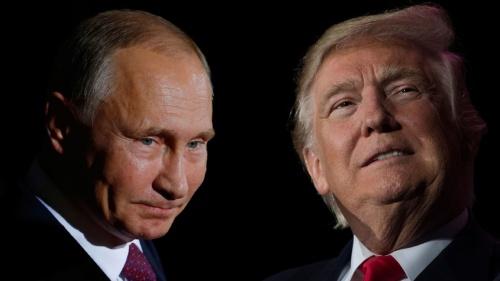 Tổng thống Nga Vladimir Putin và Tổng thống Mỹ Donald Trump. Ảnh: CNN.