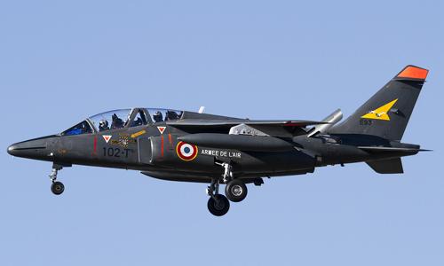 Một chiếc tiêm kích Alpha Jet của không quân Pháp. Ảnh: Defense-aero.