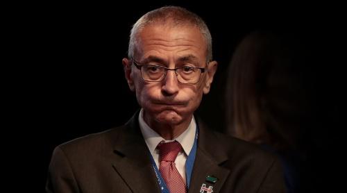 John Podesta, Chủ tịch chiến dịch tranh cử tổng thống của bà Hillary Clinton. Ảnh: RT.