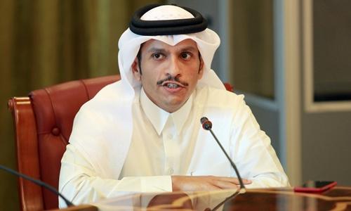 Ngoại trưởng Qatar Mohammed bin Abdulrahman al-Thani. Ảnh: Reuters.