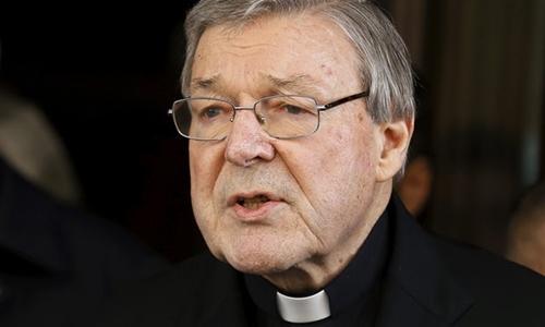 Hồng y George Pell. Ảnh: Reuters.