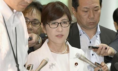 Bà  bà Tomomi Inada, Bộ trưởng Quốc phòng Nhật. Ảnh: