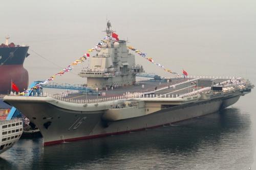 Tàu sân bay Liêu Ninh. Ảnh: Xinhua