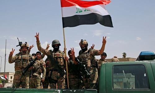 Binh sĩ Iraq tham gia chiến dịch giải phóng Mosul. Ảnh: Reuters.