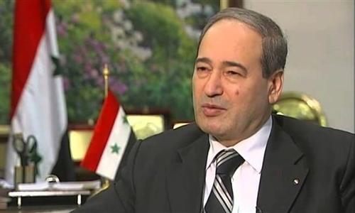 Thứ trưởng Ngoại giao Syria Faisal al-Moqdad. Ảnh: AFP.