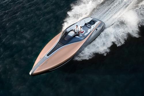 Du thuyền thể thao Lexus Sport Yacht concept lần đầu lướt sóng tại Miami.