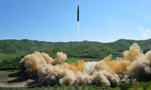 Tên lửa Triều Tiên phóng sáng nay