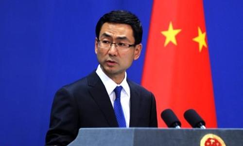 Người phát ngôn Bộ Ngoại giao Trung Quốc Cảnh Sảng. Ảnh: CRI.