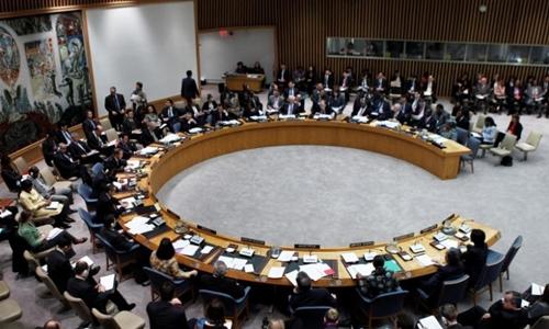 Một phiên họp Hội đồng Bảo an. Ảnh: Reuters.