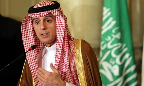 Ngoại trưởng Arab Saudi Adel al-Jubeir. Ảnh: Reuters.
