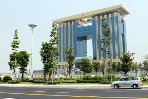 Sau khi các cơ quan ban ngành tỉnh Bình Dương di dời vào Trung tâm hành chính tập trung thì các trụ sở cũ được bán đấu giá công khai. Ảnh: Nguyệt Triều
