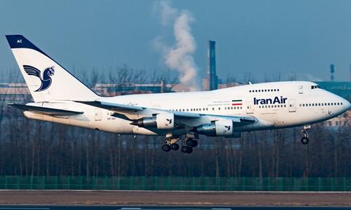 Một phi cơ hãng Iran Air. Ảnh: 5TV.