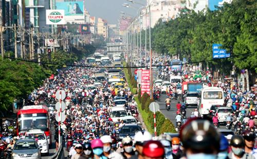 TP HCM kiến nghị sớm làm đường mới, giảm tải Tân Sơn Nhất