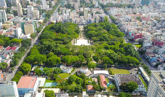 Những công viên, khu dân cư từng là nghĩa trang ở TP HCM