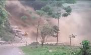 Lũ quét như thác đổ ở Hà Giang