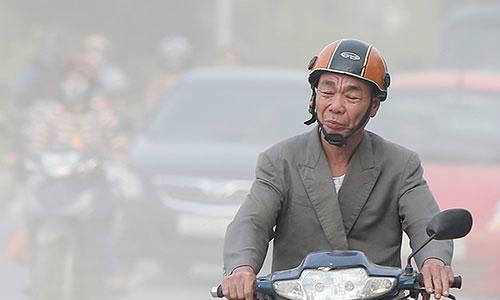 Ô nhiễm bụi ở Hà Nội cao gấp nhiều lần ngưỡng cho phép