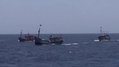 40 ngư dân Việt cùng hai tàu cá bị bắt tại Malaysia. Ảnh minh hoạ: VNA